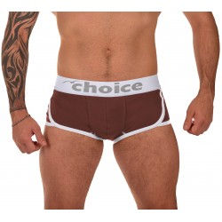 Male Boxer Shorts COFFEE